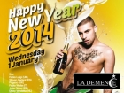 La Demence New Year gay clubbing